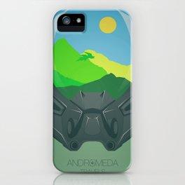 Andromeda Travels - Garden iPhone Case
