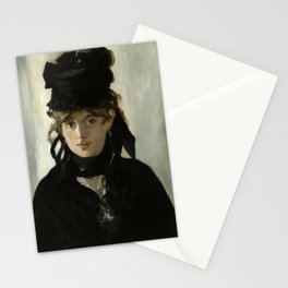 Manet, Berthe Morisot With a Bouquet of Violets Stationery Cards
