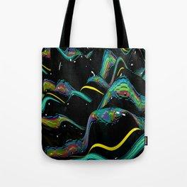 digital cream Tote Bag
