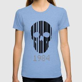 Barcode Skull 1984 T-shirt