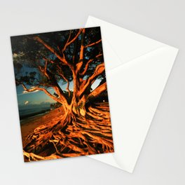 Oceanfront Tree Stationery Cards