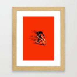 BikeCycling Framed Art Print