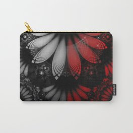Shikoba Fractal -- Beautiful Feathers of the Vampire Carry-All Pouch