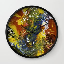 Abstract No.4 Wall Clock