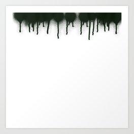 dripping Art Print