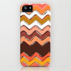 autumn chevron iPhone (5, 5s) Slim Case