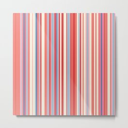 Stripe obsession color mode #3 Metal Print