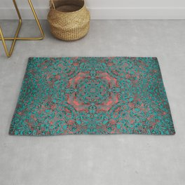 magic mandala 34 #mandala #magic #decor Rug