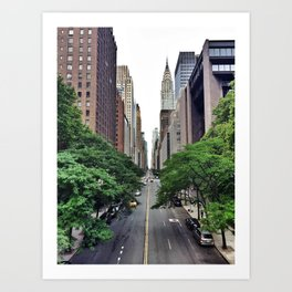E 42nd St. Art Print