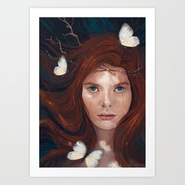 Litany of Four Art Print