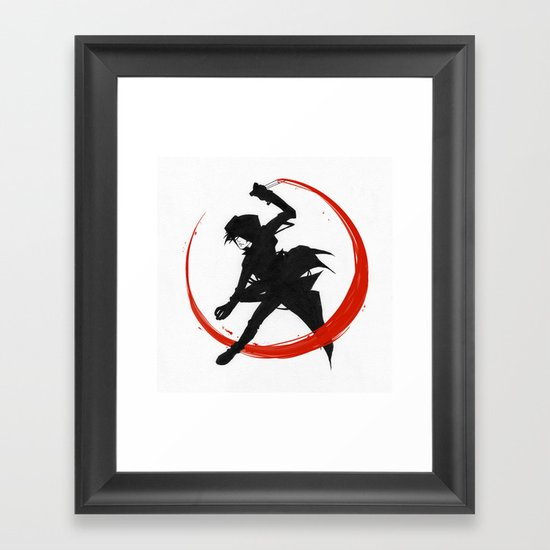 Assassin Framed Art Print