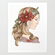 Christmas Spirit Art Print