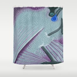 Kokako Shower Curtain