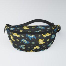 Blue Yellow - Swedish Dala Animals Fanny Pack