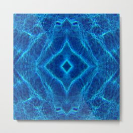 BethofArt* Water Diamond Metal Print