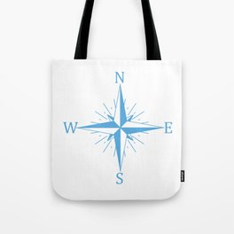 Wind compass Tote Bag