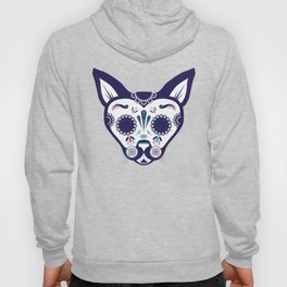 Day of the Dead Cat Hoody