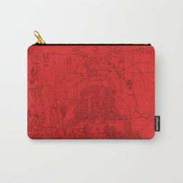 Picasso Line Art - Guernica (Red) Carry-All Pouch