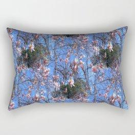Magnolias in the mountain sky...... Rectangular Pillow