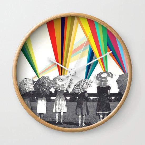 Modern women Wall Clock