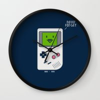 1989 Wall Clocks featuring 1989-1999 by Boots