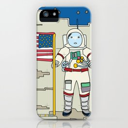 Moon Astronaut 1969 iPhone Case