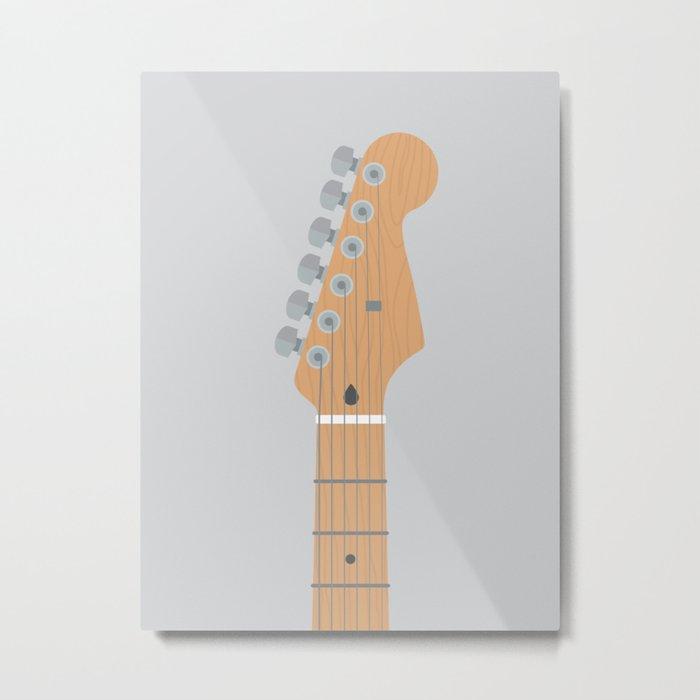 Guitar Heroes #5 - David Metal Print