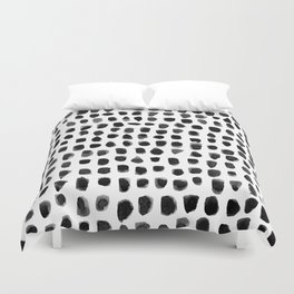 Watercolor Dots Duvet Cover