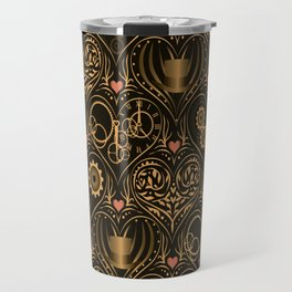 Steampunk Romance Travel Mug