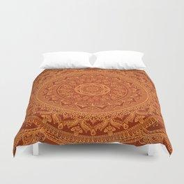 Mandala Spice Duvet Cover