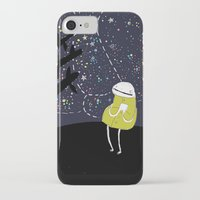astronomy iPhone & iPod Cases featuring Astronomy by Emma LaPine