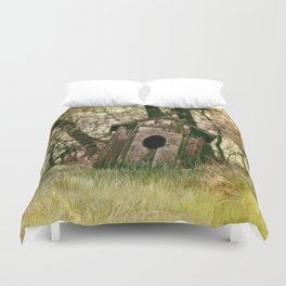 To Go, Or Not To Go.... Duvet Cover