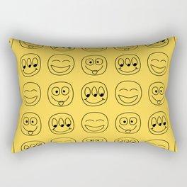 Smile Emoji Rectangular Pillow