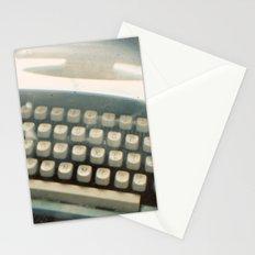 Blue Typewriter TTV Stationery Cards