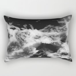 Waves of Marble Rectangular Pillow