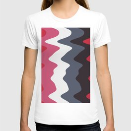 Abstract lines 23 T-shirt