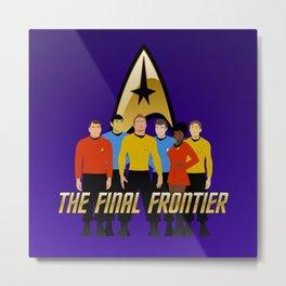 The Final Frontier Metal Print