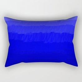 Blue in Shades Rectangular Pillow