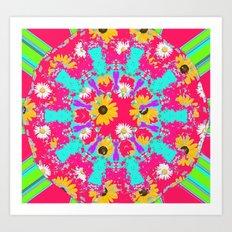Sweet summer Vibe  Art Print