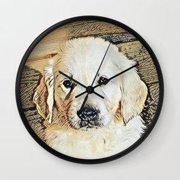 Impressive Animal - Cute Puppy Wall Clock