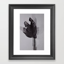 leaf eleven Framed Art Print