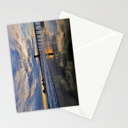 Labor Day 2013 ~ Sunset HB Pier        Stationery Cards