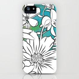 Flower Meadow iPhone Case