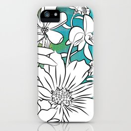Flower Meadow iPhone Case