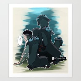 Fantastic Beasts - Mooncalves Art Print