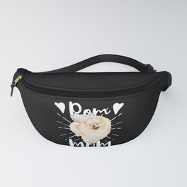 Mom Mother Mother Day Pomeranian Fanny Pack