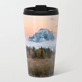 Autumn Sunrise in the Tetons Travel Mug