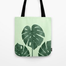 Monstera the nature series Tote Bag