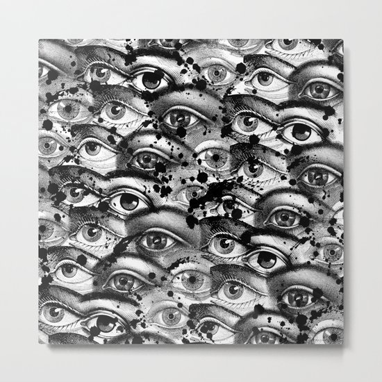 Watching You III Metal Print