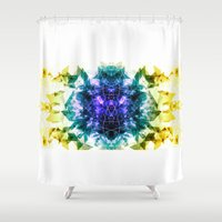 alchemy Shower Curtains featuring Alchemy Experiment 6 by garciarts